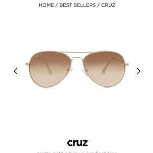 Diff Eyewear Accessories - DIFF cruz aviatored